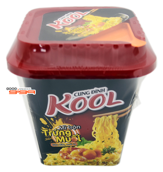 【吉嘉食品】KOOL 鹹蛋黃炒麵(乾拌麵) 每杯90公克,產地越南 {8936010680999}[#1]