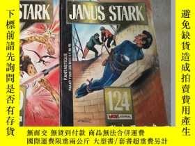 二手書博民逛書店JANUS罕見STARK【124..129期】2冊合售Y1627