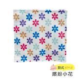 ☆愛兒麗☆美國Baby Paper 寶寶響紙安撫方巾-繽紛小花