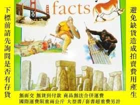 二手書博民逛書店原版英文精裝本罕見AMAZING History facts A