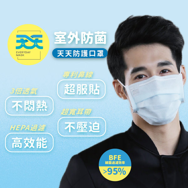 室外防菌醫用口罩 每盒50入