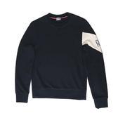 【MONCLER】厚款純棉刷毛長袖T-shirt(深藍)80095008099X 760