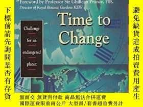 二手書博民逛書店Time罕見to Change: Challenge for a