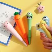 韓國中性筆發泄筆可愛創意造型解壓筆文具海綿學生女小清新簽字筆 星河光年