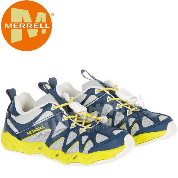 Merrell 96905 兒童運動鞋Aquaterra Sprite 孩童休閒鞋/涼鞋/走路鞋/耐磨橡膠大底