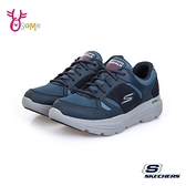 Skechers健走鞋 男鞋 GOWALK DURO 防潑水健走鞋 跑步鞋 運動鞋 慢跑鞋 足弓鞋墊 V8205#藍色◆奧森