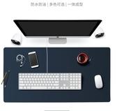 滑鼠墊 辦公桌墊大號滑鼠墊男女寫字墊超大皮革滑鼠墊書桌電腦墊可LX 智慧e家