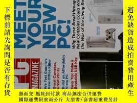 二手書博民逛書店PC罕見Magazine 2006年11月21日 英文個人電腦雜誌 可用樣板間道具雜誌Y14610