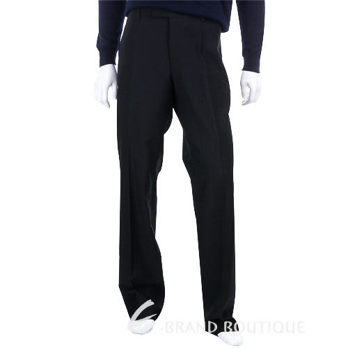 BOSS 抓褶西裝褲(黑色) 0580027-01