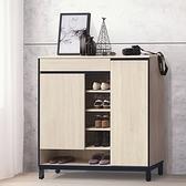 【水晶晶家具/傢俱首選】CX1613-1 韋克120公分耐磨木心板鞋櫃