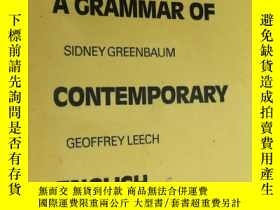 二手書博民逛書店A罕見Grammar of Contemporary English 現代英語語法(英文版)Y85718 R.