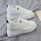 厚底內增高小白女鞋2010年季新款爆款百搭網紅ins潮春8cm休閒 快速出貨