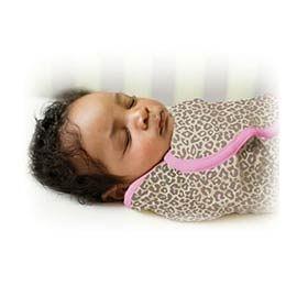《美國Summer infant》 聰明懶人純棉包巾(粉紅豹) ㊣原廠授權總代理公司貨