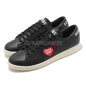 【海外限定】adidas 休閒鞋 Stan Smith Human Made 黑 愛心 男鞋 女鞋 三葉草 【ACS】 FY0736