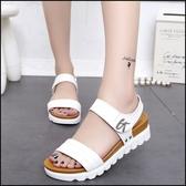 ~厚底涼鞋楔型涼鞋~ifairies ~52602 ~