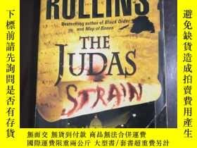 二手書博民逛書店英文原版THE罕見JUDAS STRAIN JAMES ROLL