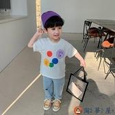 男童短袖t恤上衣韓版寶寶半袖打底衫夏季【淘夢屋】