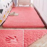 地毯 臥室床邊地毯客廳茶幾沙發毯房間滿鋪公主灰色榻榻米 nm6429【VIKI菈菈】