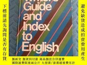 二手書博民逛書店Writers罕見Guide and Index to English(英文精裝原版)Y166423 WILM