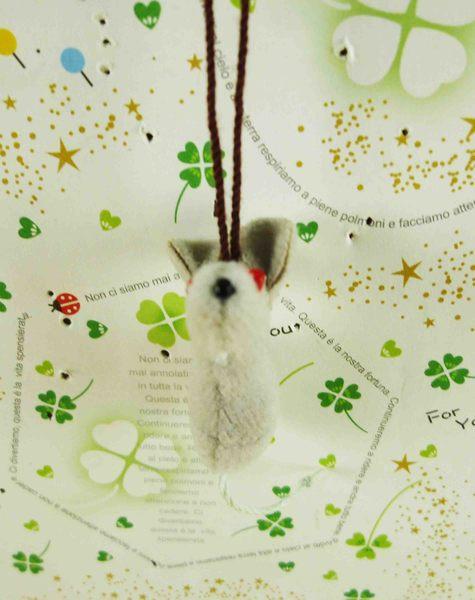【震撼精品百貨】となりのトトロTotoro_造型吊飾-老鼠