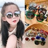 兒童太陽鏡墨鏡韓版小孩眼鏡時尚潮男童女童寶寶防紫外線眼鏡遮陽 夢幻小鎮
