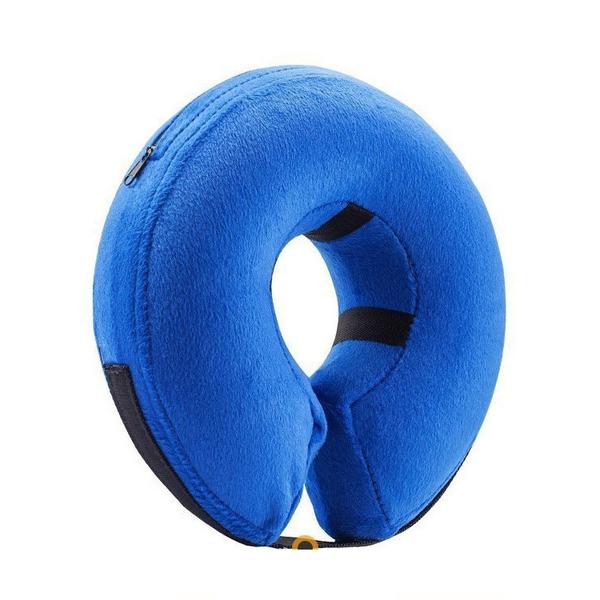 ★寵物頭套氣墊式防護頸圈~【 L號】功能同伊莉莎白防護頸圈,適用於受傷、結紮時使用 VW
