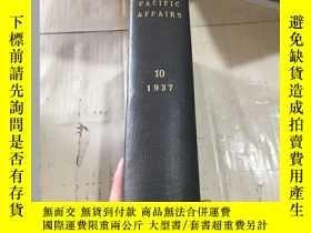 二手書博民逛書店INDEX TO Pacific罕見Affairs VOLUME