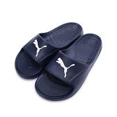 PUMA DIVECAT 一體成形套式拖鞋 深藍白 360274-03 男鞋