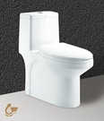 【麗室衛浴】國產精品 兩段式省水單體馬桶 + 面盆龍頭 + 浴櫃組合