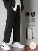 西裝褲男大碼直筒寬松闊腿百搭休閑男褲夏季【大碼百分百】
