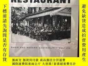二手書博民逛書店英文原版:The罕見invention of the restaurantY367822 Rebecca L.