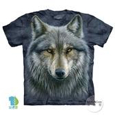 【摩達客】(預購)美國進口The Mountain 勇戰之狼 純棉環保短袖T恤(YTM104174979054)