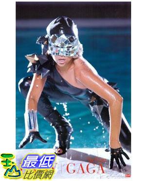 [美國直購 ShopUSA] Lady Gaga 海報 -Lady Gaga - Music / Personality Poster (Pool) (Size: 22吋x34吋 Poster(_P01) $839