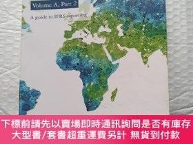 二手書博民逛書店Deloitte罕見. iGAAP 2014 Volume A , Part 2 A guide to IFRS