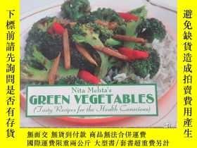 二手書博民逛書店Green罕見Vegetables: Tasty Recipes for the Health Conscious