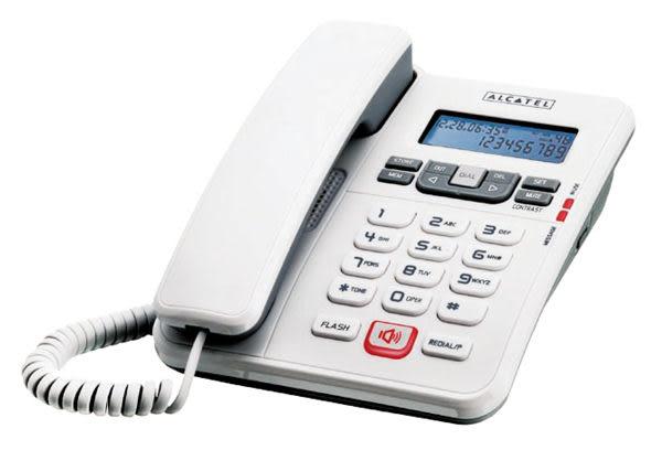 【Temporis 55】阿爾卡特 Alcatel 來電顯示有線電話 Temporis 55