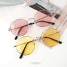 墨鏡 果凍鏡片圓框太陽眼鏡 復古彩色鏡片【NY382】夏日必備單品