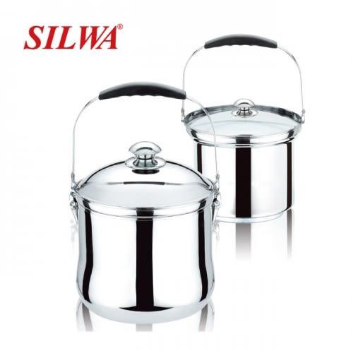 西華 304免火再煮鍋(7L) 型號ESW-007L-1