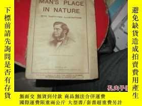 二手書博民逛書店1913年MAN,S罕見PLACE IN NATURE9837