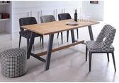 【新北大】✪ R223-1 無印生活5尺餐桌(不含餐椅)-18購