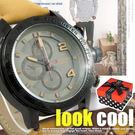 【贈盒】男對錶 CURREN經典三眼造型 戶外時尚潮流 立體指針 刻度大錶框☆匠子工坊☆【UK0072】