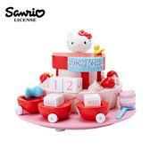 【日本正版】凱蒂貓 造型萬年曆 月曆 年曆 擺飾 Hello Kitty 三麗鷗 Sanrio - 240588