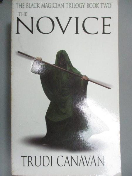 【書寶二手書T1/原文小說_LII】Novice A_Canavan