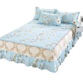 床包席夢思床罩床裙式床套單件防塵保護套1.5米1.8m床單床墊床笠防滑