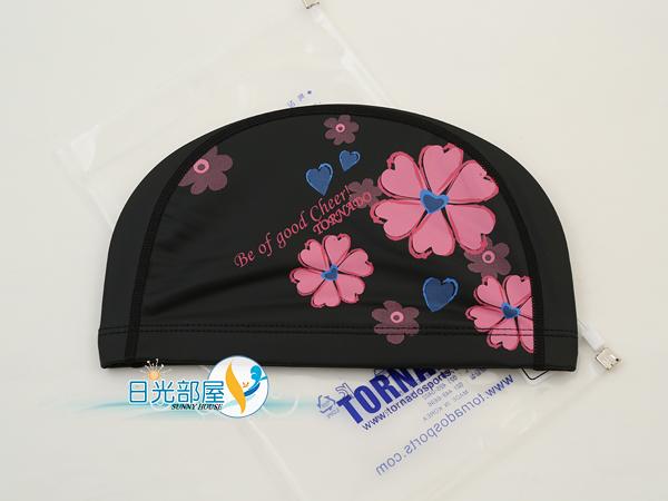 *日光部屋* TORNADO (公司貨)/TC-1619-BLK PU-2WAY 舒適泳帽(韓國知名品牌)