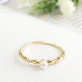 奥黛麗珍珠戒指【r1612007】