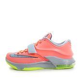 Nike KD VII EP [653997-840] 男鞋 運動 籃球  橘 螢黃