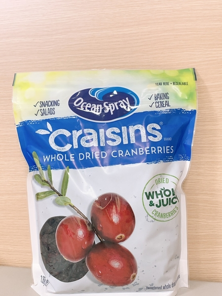 ❤OceanSpray Craisins蔓越莓乾❤一包約1.36公斤❤美國 果乾 水果 零食 點心 嘴饞❤