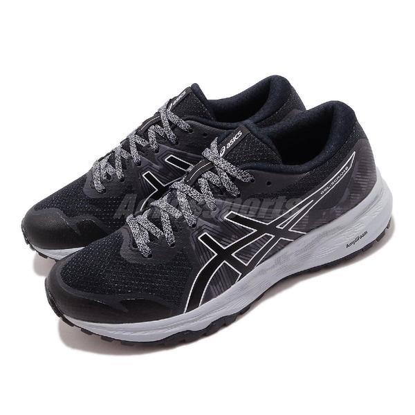 Asics 慢跑鞋 Gel-Scram 6 黑 灰 女鞋 野跑 亞瑟膠 運動鞋 【ACS】 1012A730020