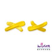 威世登 黃金流線型貼耳耳環 金重約0.24~0.26錢 送禮推薦 生日 情人節 GF00059-EEX-EHX